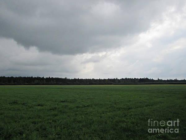 Photograph - Before The Storm Near Ausgburg by Chani Demuijlder