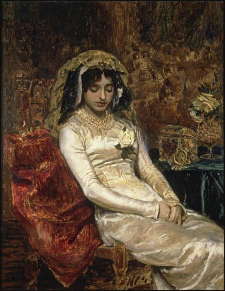 Bridesmaids Painting - Before The Wedding by Munoz Degrain Antonio