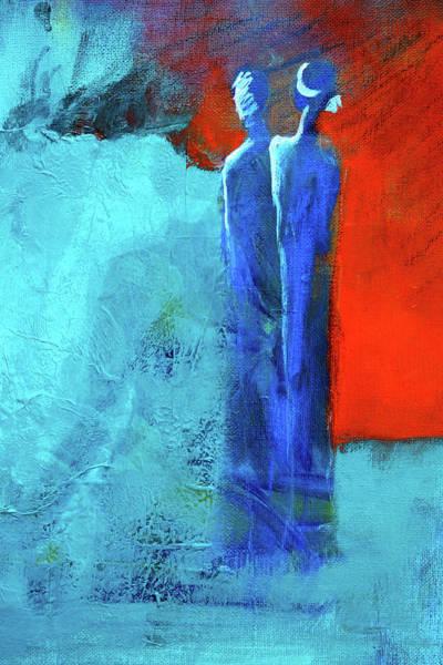 Wall Art - Painting - Before The Wedding by Nancy Merkle
