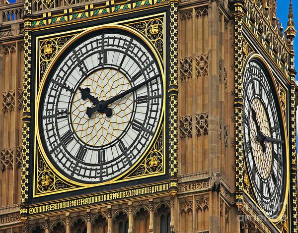 Photograph - Big Ben by Digital Art Cafe