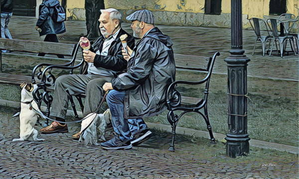 Wall Art - Photograph - Begging For Ice Cream by Russ Harris