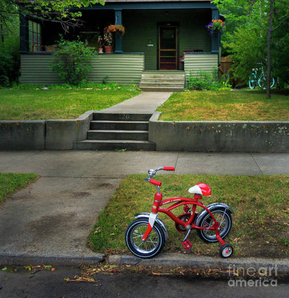 Photograph - Beginners Bicycle by Craig J Satterlee