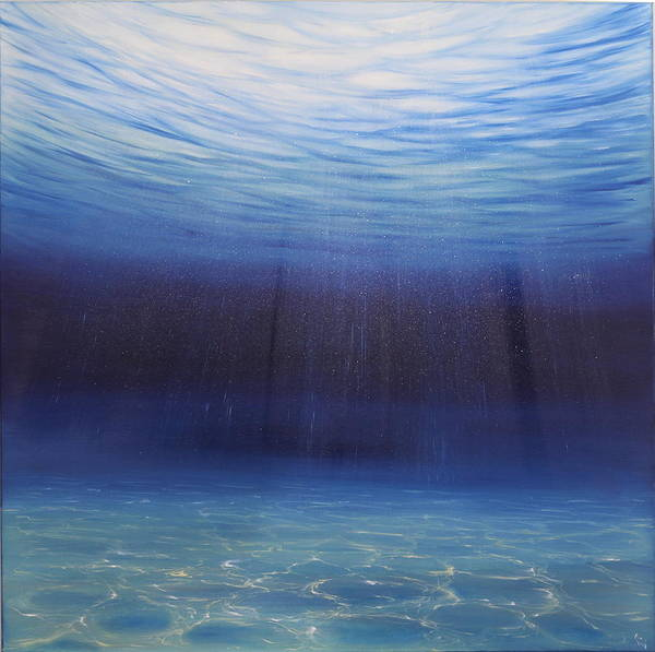 Painting - Beginnings by Eva Volf