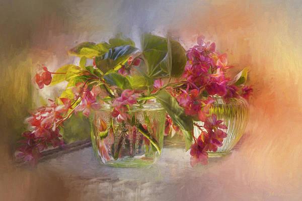 Begonias Art Print