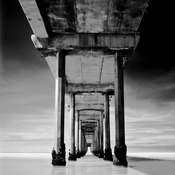 Scripps Pier Photograph - Behemoth by Ryan Weddle