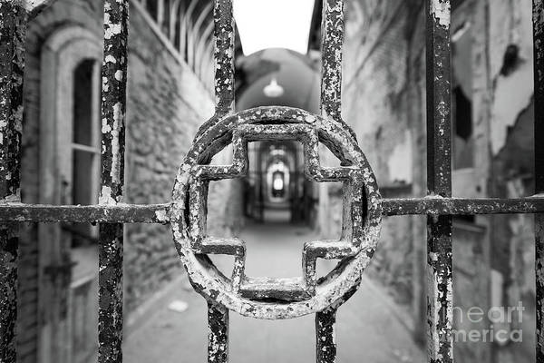 Wall Art - Photograph - Behind Bars Bw by Michael Ver Sprill