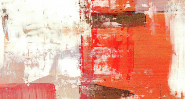 Wall Art - Painting - Behind The Corner - Warm Linear Abstract Painting by Modern Abstract