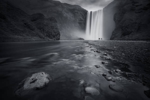 Cascade Wall Art - Photograph - Behind The Curtain by Sebastien Del Grosso