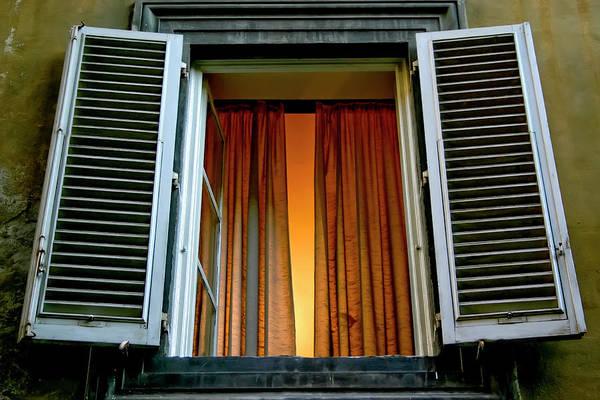 Photograph - Behind The Curtains by KG Thienemann