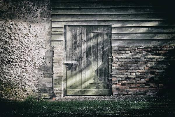 Doorknob Photograph - Behind The Door by Martin Newman