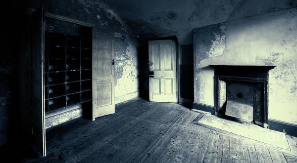 Faded Mixed Media - Behind The Door by Svetlana Sewell