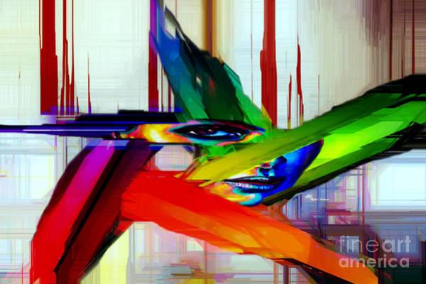 Digital Art - Behind The Glass by Rafael Salazar