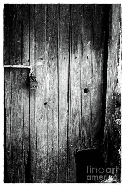 Photograph - Behind The Locked Door by John Rizzuto