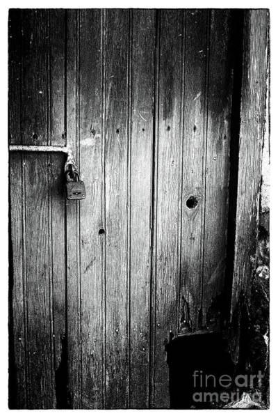 Wall Art - Photograph - Behind The Locked Door by John Rizzuto