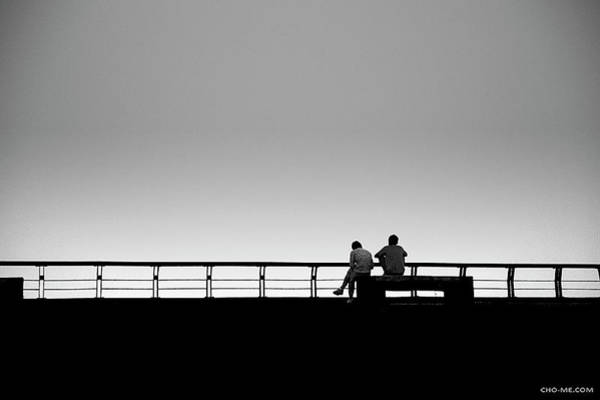 Photograph - Behind The Railing by Cho Me