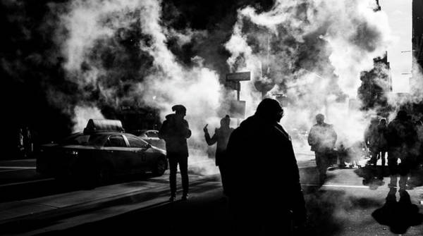 Photograph - Behind The Smoke by Johnny Lam