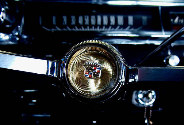 Photograph - Behind The Wheel by James Granberry