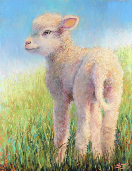 Painting - Behold The Lamb by Susan Jenkins