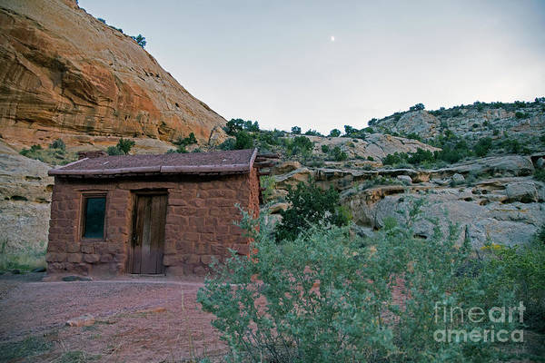 Photograph - Behunin Cabin Capital Reef by Cindy Murphy - NightVisions