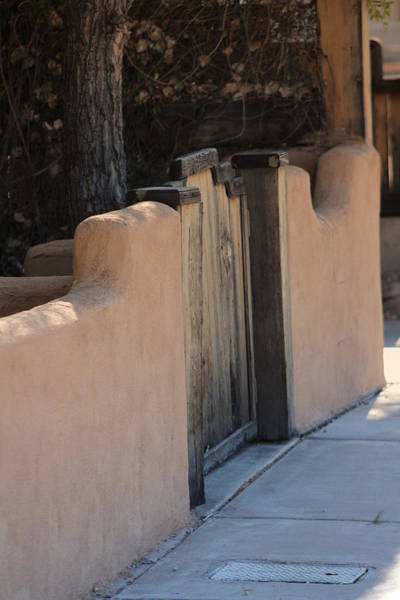 Photograph - Beige Adobe Wall by Colleen Cornelius