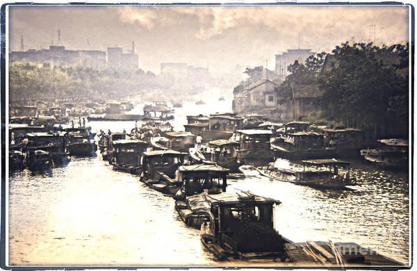 Photograph - Beijing-hangzhou Grand Canal  by Heiko Koehrer-Wagner