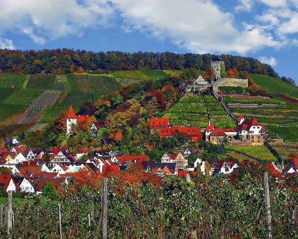 Photograph - Beilstein Panorama by Anthony Dezenzio