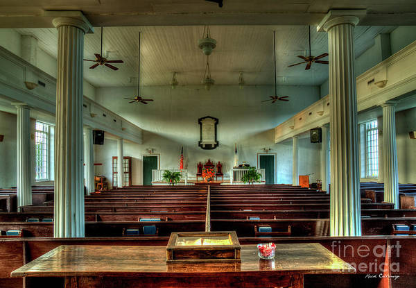 Greek Revival Architecture Photograph - Being Faithful Penfield Baptist Church Art by Reid Callaway