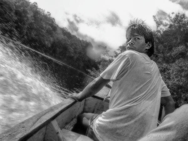 Photograph - ...being Followed On The Churun River In Venezuela.... by Paul Vitko