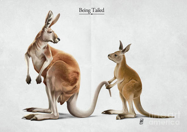 Digital Art - Being Tailed by Rob Snow