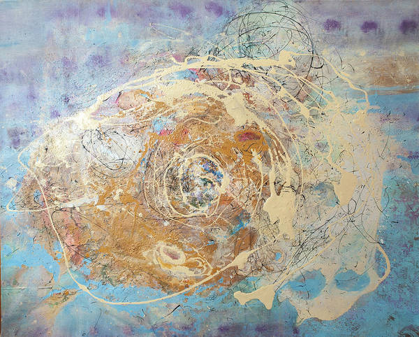 Painting - Being Universe. From Chaos To Order by Anna Skorko