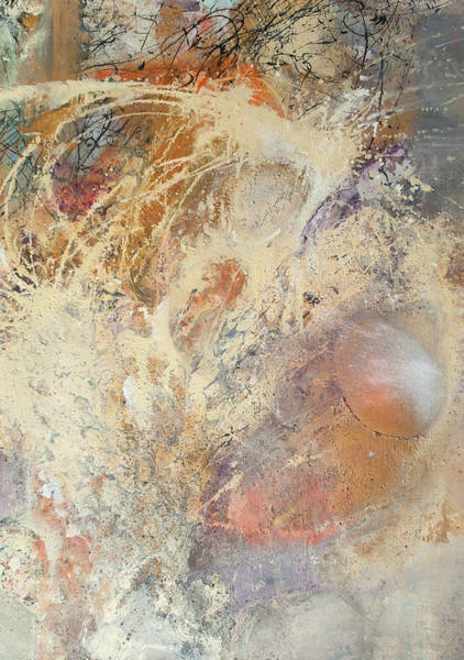 Painting - Being Universe. From Chaos To Order. Fragment 4 by Anna Skorko