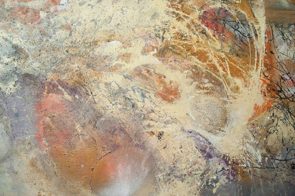 Painting - Being Universe. From Chaos To Order. Fragment 5 by Anna Skorko