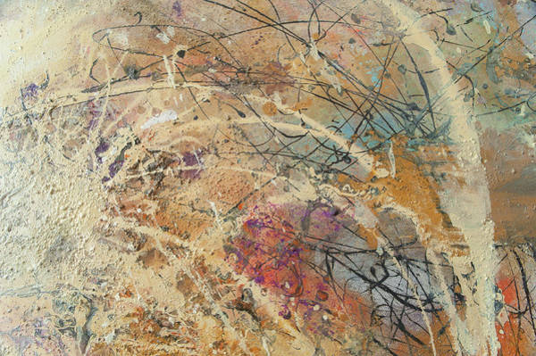 Painting - Being Universe. From Chaos To Order. Fragment 7 by Anna Skorko