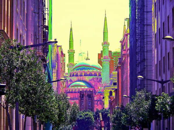 Arte Photograph - Beirut Mosque  by Funkpix Photo Hunter