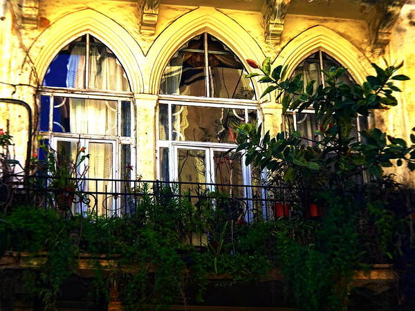 Arte Photograph - Beirut Old Home by Funkpix Photo Hunter
