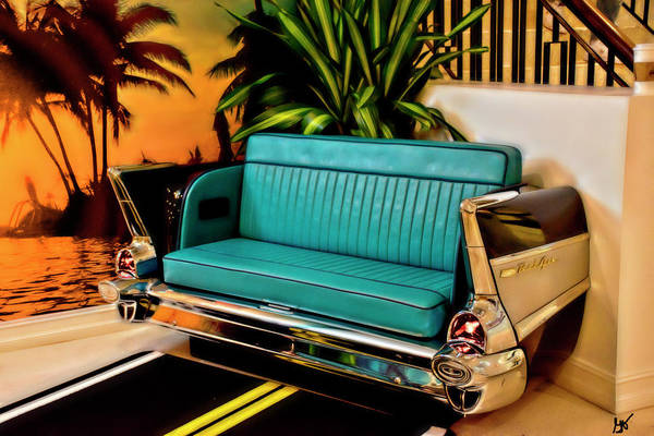 Photograph - Bel Air Seating At The Hard Rock Cafe Daytona Beach by Gina O'Brien