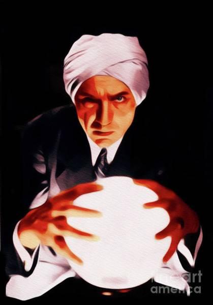 Wall Art - Painting - Bela Lugosi, Night Of Terror by John Springfield