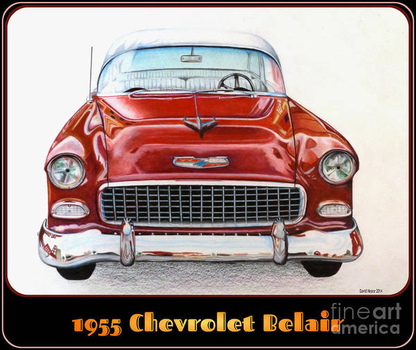 Drawing - Belair by David Neace