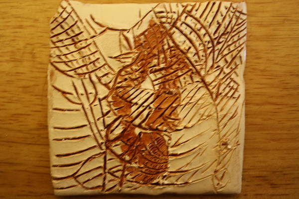Ceramic Art - Beleive This - Tile by Gloria Ssali