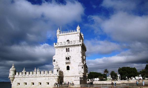 Photograph - Belem Tower Castle II Lisbon Portugal by John Shiron