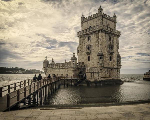 Photograph - Belem Tower Lisbon Portugal by Joan Carroll