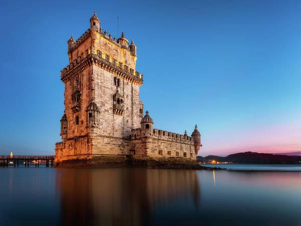 Photograph - Belem Tower - Lisbon, Portugal by Nico Trinkhaus