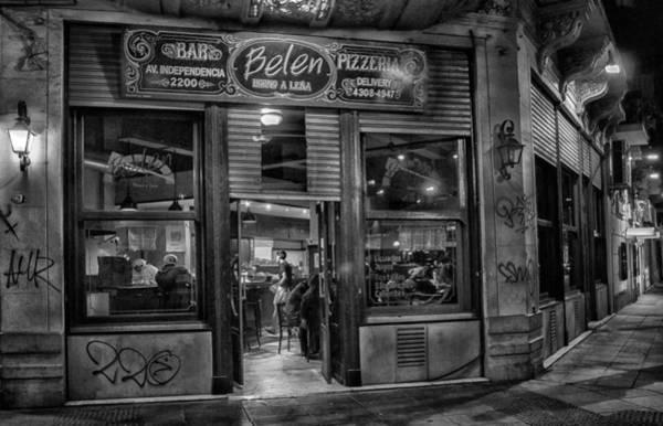 Cabildo Wall Art - Photograph - Belen Cafe by Hans Wolfgang Muller Leg