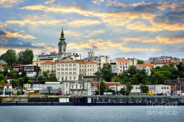 Wall Art - Photograph - Belgrade Cityscape On Danube by Elena Elisseeva