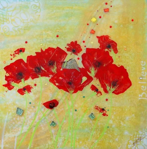 Painting - Believe By Mimi Stirn by MiMi Stirn