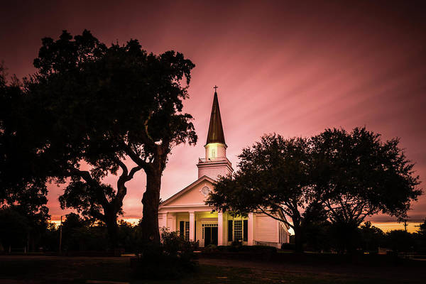 Wall Art - Photograph - Belin Memorial Umc Sunset by Ivo Kerssemakers
