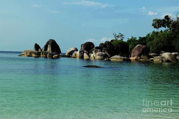 Pyrography Wall Art - Photograph - Belitung Island by Andy Maryanto