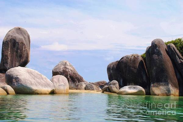 Pyrography Wall Art - Photograph - Belitung Island Wall by Andy Maryanto