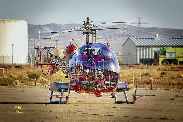 Photograph - Bell 47 by Jim Thompson