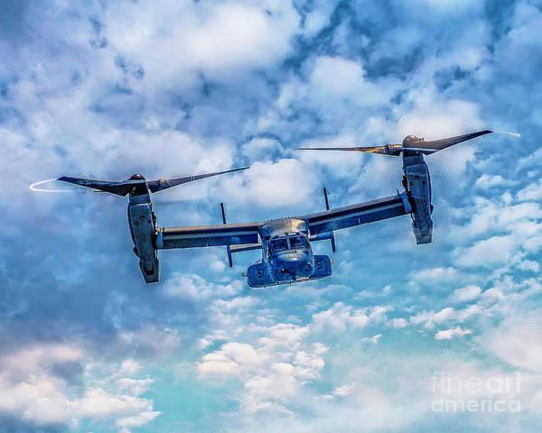 Bell Boeing V-22 Osprey  Art Print
